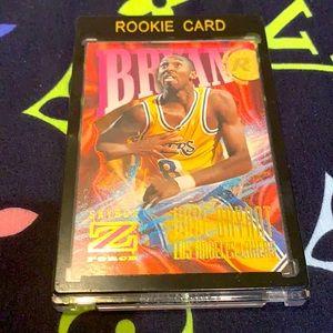 Kobe Bryant Skybox Z Force Rooke Card Rare